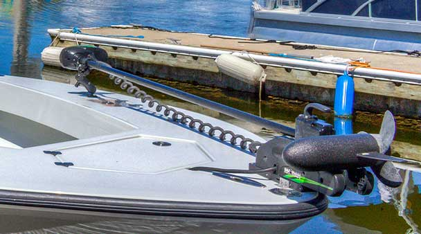 Rhodan Trolling Motor | Fishing and Eco-Tour Charters in Fort Myers and Naples Florida - Pica Charters, LLC